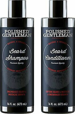 POLISHED GENTLEMAN BEARD Growth and Thickening Shampoo and