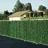 ARTIFICIAL CONIFER PRIVACY FENCING - 2m high x 3m long