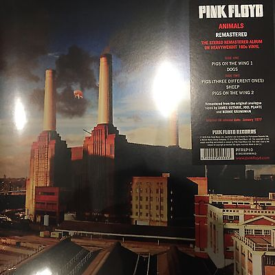PINK FLOYD 'ANIMALS' 2016 New Remastered 180g VINYL LP - New And Sealed