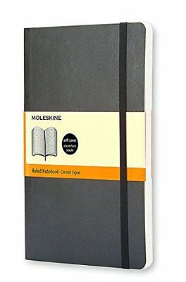 Moleskine - Soft cover, ruled large notebook