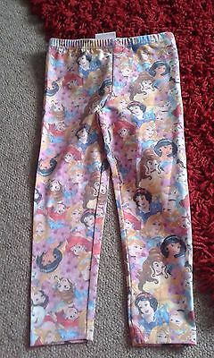 Disney princess Leggings new without tag from BHS age 2-3