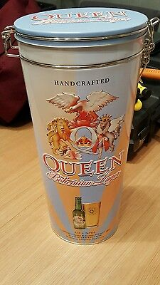 QUEEN BOHEMIAN RHAPSODY 40th ANNIVERSARY LAGER BEER..PINT GLASS BOTTLE & BOX..