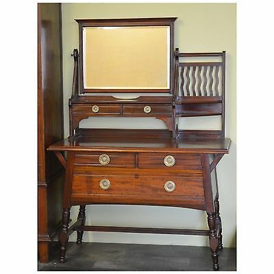 Antique Arts and Crafts Liberty Style Dressing Table by Shapland & Petter