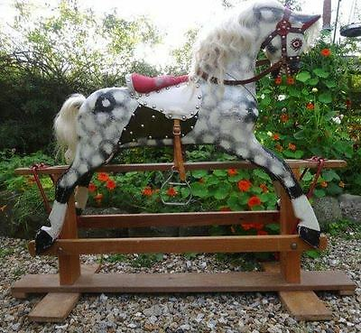 Vintage, Antique Rocking Horse made by Collinson of Liverpool