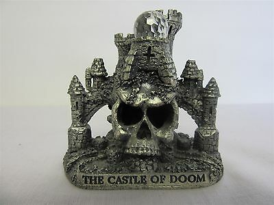 Evergreen Studio Collection 'The Castle of Doom' pewter ornament, Unboxed