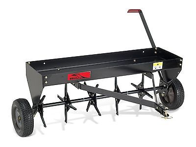 Brinly PA-40BH Tow Behind Plug Aerator 40-Inch Black 40 in.