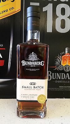 Bundaberg Rum Mdc Small Batch 700Ml Batch No. 1 *rare*