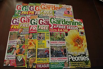 10 Copies Of Amateur Gardening Magazine, March, April, May 2013