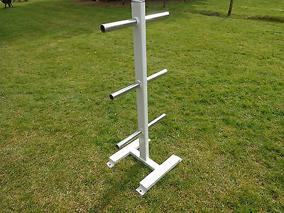Olympic weight storage tree.Commercial gym equipment.Weight rack