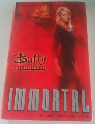 Buffy The Vampire Slayer: Immortal HB Book