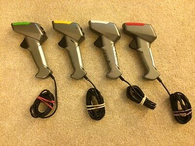 Scalextric x4 Digital Hand Throttles (C7002)) Perfect Working Order