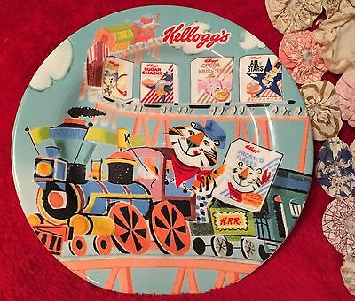 Vintage Kellogg's Tony The Tiger Breakfast Porcelain Plate Reproduction Bright