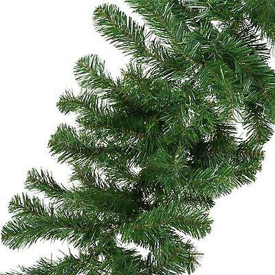 9ft Pine Garland Christmas Decoration Indoor Outdoor Home Tree Undecorated