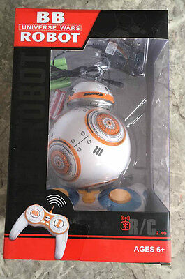 """ Star Wars: The Force Awakens Droid BB-8 ""s looking Remote Control Robot  Xmas"
