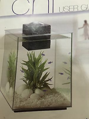 Fluval Chi Fish Tank With Light And Filter Plus Accessories