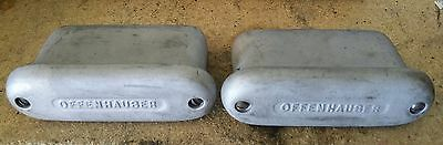 Pair Vintage Offenhauser Valve cover Breathers