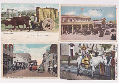 Mexico Picture Postcard Lot 1900's to 1970's 17 Items