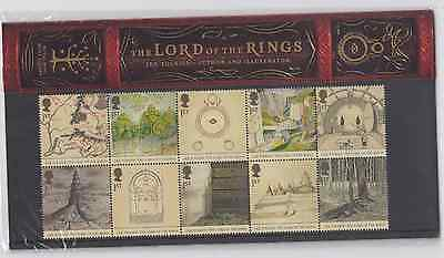 Great Britain 2004 Lord of the Rings Stamp Set