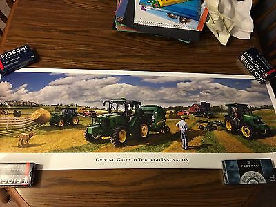 JOHN Deere Limited Edition Print From 2008 Product Introduction In Denver