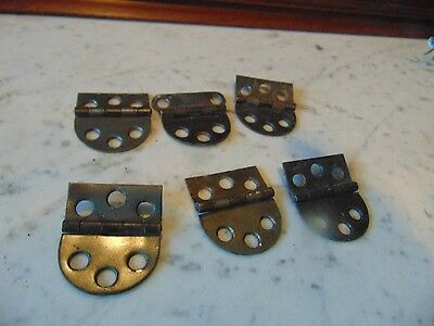 vintage/antique    6   hinges  nice    #  3119
