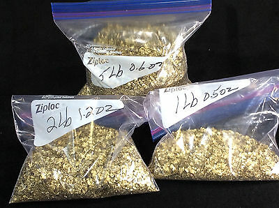 Brass Flakes (2lb) for Orgone/Orgonite Manufactuer, Art Supplies, Metal Casting