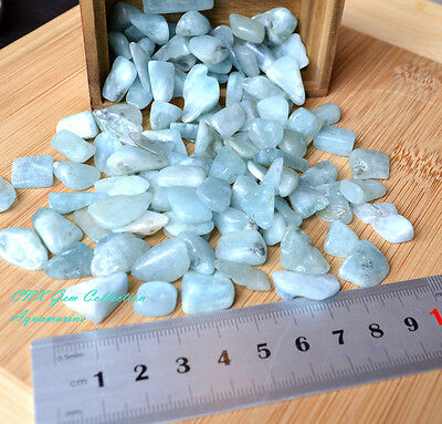 Tumbled Gemstone Crystal Natural Aquamarine 5g Rare Collectable All Sizes