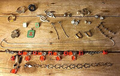 Sterling Silver .925 Mixed Jewelry Lot - 90g