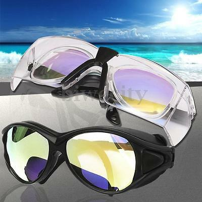 CO2 10600nm OD + 7 Laser Protection Glasses Goggles Double Layer Safety Eyewear