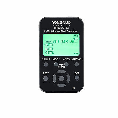 Yongnuo YN-622C-TX YN622 E-TTL Wireless Flash Transmitter Controller for Canon