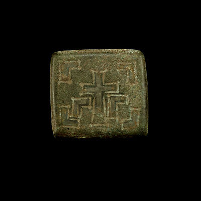 Early Byzantine bronze weight x9912