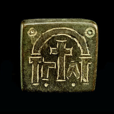 Early Byzantine bronze weight x9911