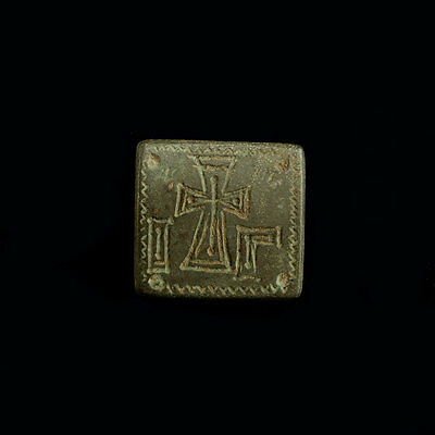 Early Byzantine bronze weight x9902