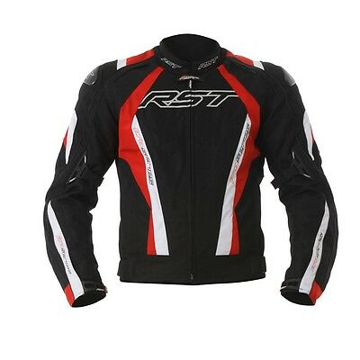 RST 16 CPX-C Sport Waterproof Motorcycle Textile Jacket Black Red