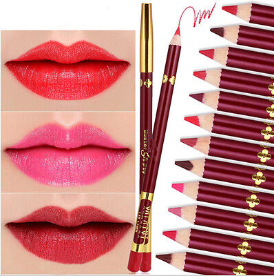 12 Colors Matte Long Lasting Pen Makeup 1PC Lip Gloss Lipstick Waterproof Lip