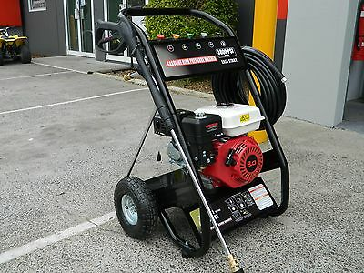 High Pressure Cleaner Washer 8 HP 3800 PSI Petrol Water Hose Gurney 30 mtr hose