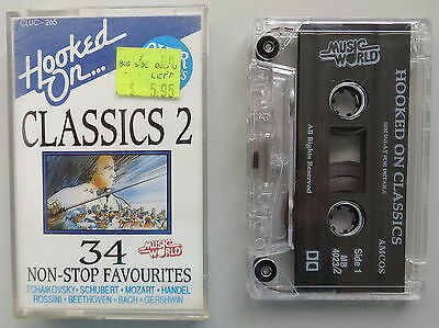 Hooked On Classics 2 - Various Artists (1992) - cassette tape