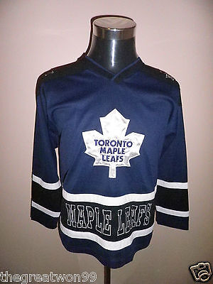 NHL Toronto Maple Leafs YOUTH LGE/14-16 Ice Hockey Jersey by Mighty Mac