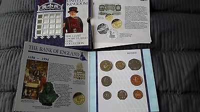 1994 Brilliant Uncirculated 8 Coin Collection Year Set Royal Mint