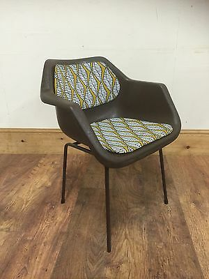Robin Day Polypropylene Armchair, Dark Brown!!