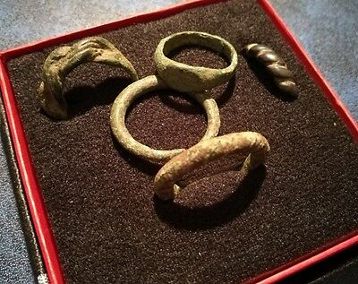 Vikings Ancient Bronze Rings Lot!!!