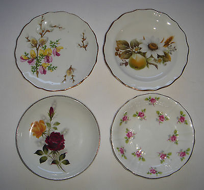 Bone China Pin Dishes ALFRED MEAKIN Glo White ROYAL GRAFTON 2 DUCHESS England