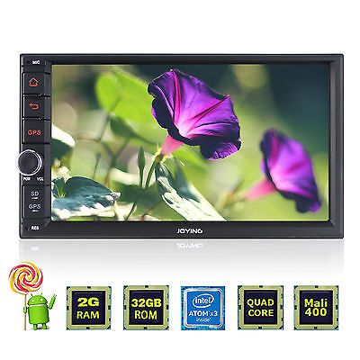 "1 DIN single 7"" touch screen di navigazione GPS Autoradio Bluetooth DAB+ FM USB"