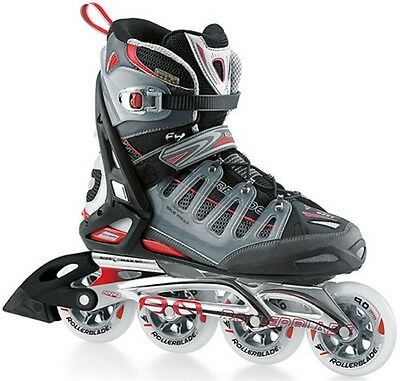 Rollerblade Crossfire XT Red/Ant UK 8.5