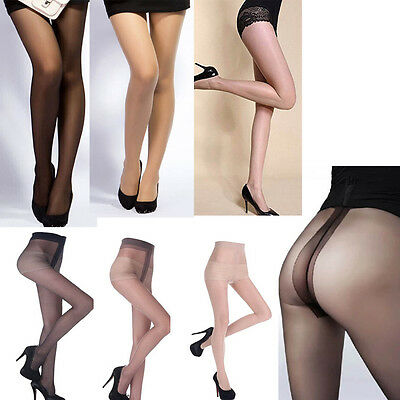 Sexy Women Footed Tights Thin Pantyhose Stockings Socks Soft Fashion