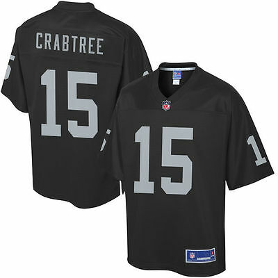 #15 Michael Crabtree Oakland Raiders Mens sizes NFL jersey brand new with tags!