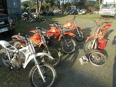 Honda XR 80s projects