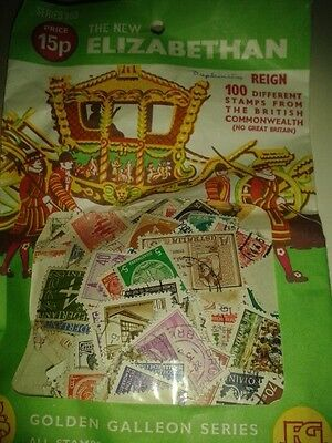 Collection Of 200 World Stamps, All Different,, Used, Old & New
