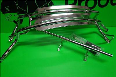 Rear Florida Crashbars In Chrome Good Quality Fits Vespa Px 125
