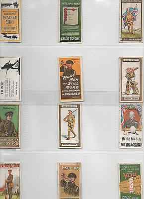 Recruiting Posters, Wills x 12 - 1915