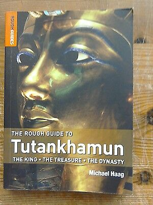Book the Rough Guide to Tutankhamun by Michael Haag.2007.